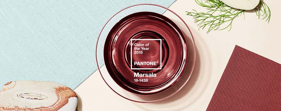Pantone Cor do Ano 2015 - Marsala